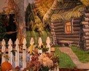 украшение сцены в церкви на Жатву
