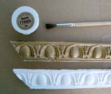Рамка из плинтуса для картины своими руками