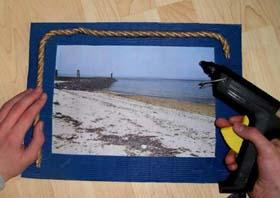 Морская рамка для фотографий