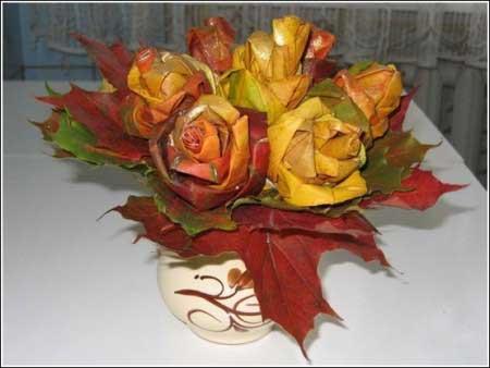Флористика поделки из цветов и