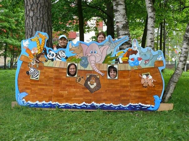 Ноев ковчег - декорация