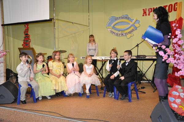 дети в воскресной школе