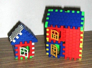 домики из конструктора