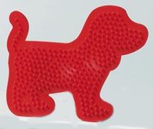 Собака - основа для термомозаики